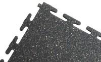ECOTILE PVC Bodenfliese marmoriert, antratzit, glatt 500 x 500 x 7 mm