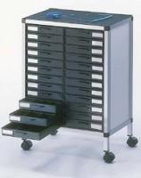 Schubladenschrank EGB Rollboy ESD 24