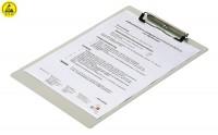ESD-Klemmbrett DIN A4, Aluminium