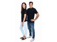 ESD T-Shirt Premium schwarz Rundhals