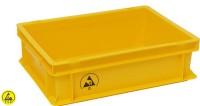 ESD Lagerbehälter gelb aus IDP-STAT