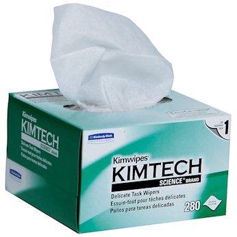 """Kimberly Clark KIMTECH Reinigungstücher 4,4"""" x 8,4"""" (11,2 x 21,3 cm)"""