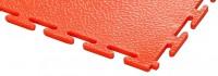 ECOTILE PVC Bodenfliese, rot, standard, glatt, 500 x 500 x 7 mm