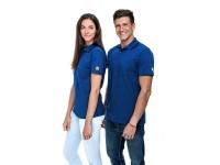 ESD Poloshirt Premium Royalblau