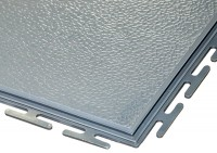 ECOTILE PVC Bodenfliese, grau standard, 500 x 500 x 6 mm