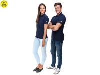 ESD Poloshirt Premium Marine