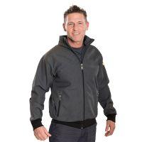 ESD Premium Twin-Lay Jacke, grau-schwarz