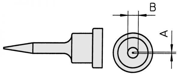 WELLER - LT-1S Ø 0,5 mm