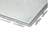 ECOTILE PVC Bodenfliese, hellgrau standard, 500 x 500 x 6 mm